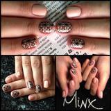 Эксклюзивное покрытие ногтей MINX!
