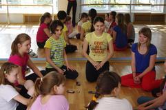 Занятия в школе Оксаны Федоровой